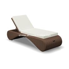 Mimbre de jardín Patio rota muebles al aire libre Hotel hamaca