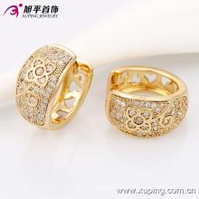29950 Xuping Venda Quente Para A Mulher Com Banhado A Ouro 18 K Brincos De Jóias De Ouro