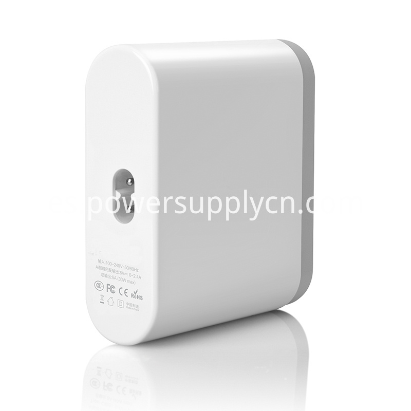 Type C and QC 3.0 Charger 6USB Ports