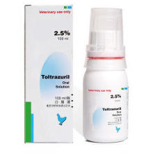 GMP Toltrazuril solution buvable 2,5% 100 ml