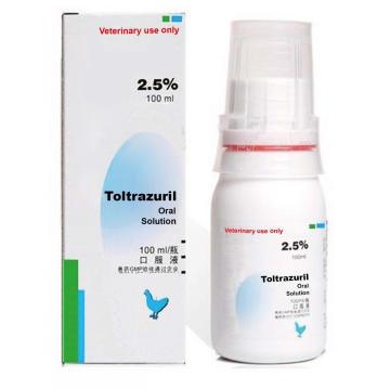GMP Toltrazuril solution buvable 2,5% 100 ml