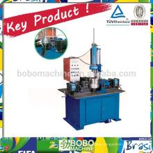 Hydraulic utensils trimming and beading machine