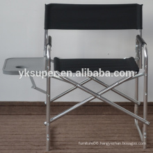 Factory good quality lightweight captain chair/aluminum director chair
