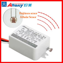 Mini Microwave Occupancy Movement Sensor LED Light