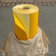 Fita plástica autoadesiva do Sandblast da pedra do PVC
