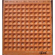 Kunststoffformen für Pflastersteine 25x25mm