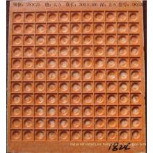 moldes de plástico para adoquines 25x25mm