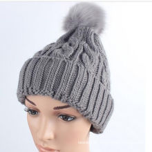 2016 Hot New Products Colorful Stylish Knitted Custom Beanie Hat