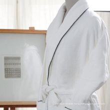 Premium Cotton Bathrobe Shawl Collar Gowns