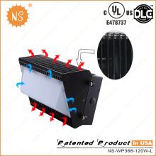 UL (E478737) Dlc IP65 12000lm 120W Outdoor Wall Pack LED Retrofit Kits