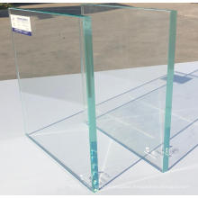 10mm tempered sliding glass frameless shower door in building glass
