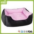 Almofada e cama confortáveis do cão de animal de estimação