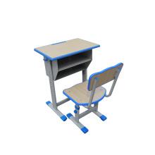 Mobília-Mesa e cadeira dobro da escola da gaveta Lb-D / C-005