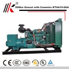 Генератор 500kw установить с CUMMINS KTAA19-G6A дизельный двигатель генератора 625 кВА