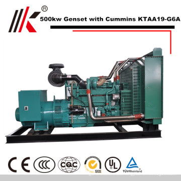 500KW GENERATOR SET WITH CUMMINS KTAA19-G6A DIESEL ENGINE 625KVA GENSET