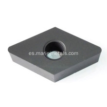 Varios tipos de carburo de tungsteno punta insertable indexable