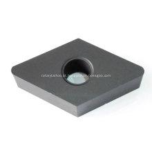 Vários tipos de ponta de inserção indexável de carboneto de tungstênio