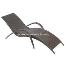 Osier jardin Patio meubles rotin extérieur Set Sunlounger