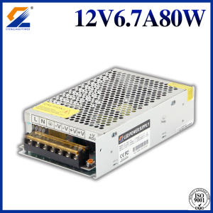 12V 80W Switching Power Supply Untuk Strip LED