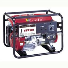 Máquina de solda de partida elétrica GX390 Gerador de solda de gasolina