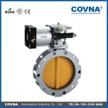 Válvula de borboleta pneumática do pó da alta qualidade, válvula de borboleta, válvula de borboleta pneumática