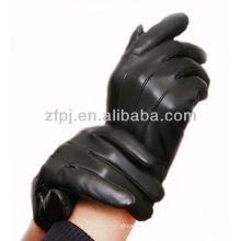 2013 heißer Verkauf Schaffellleder smartphone Handschuh