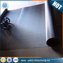 Hohe Filtrationspräzision 500 550 600 635 Masche 316L Edelstahl-Maschendraht / Maschendrahtschirm / Maschendrahtgeflecht