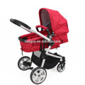 2015 china manufacture aluminum alloy brand baby pram with big wheels