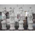 Carving Stone Statue Marmor Skulptur für Garten Dekoration (SY-X1183)