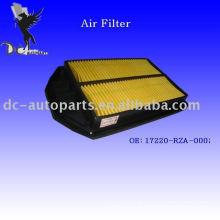 Filtro de ar do motor de Toyota Auto