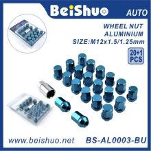 20 + 1 PCS / Set écrou de blocage de la roue pour la sécurité des roues