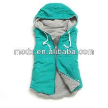 Mujeres con capucha chaleco de moda 2013