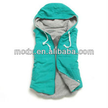 Women Hooded Fashion Vest 2013