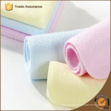 Hot venda algodão orgânico washcloth bebê
