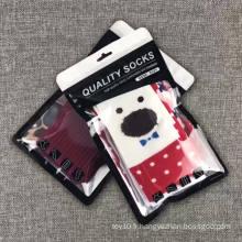 Fermeture à glissière en plastique sacs d'emballage transparents sachet d'emballage