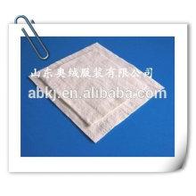 Pieza de algodón verde de 3mm \ Textil para el hogar con una rebanada de algodón pinhole