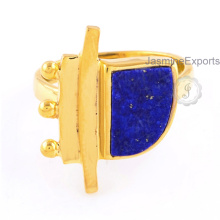 Wholesale Supplier For Lapis Gemstone Ring, 925 Silver Lapis Ring Jewelry