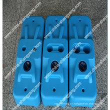manufatura provisória dos pés da cerca