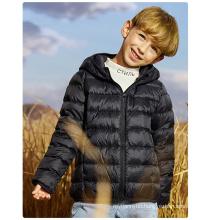 Ultra light Hooded Comfortable Warm Winter Kids White Duck Down Jackets