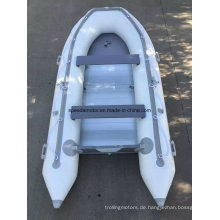 CE-360 PVC Rumpf Material aufblasbare Motor Boot