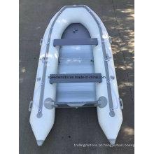 Barco de motor inflável Material PVC casco CE 360