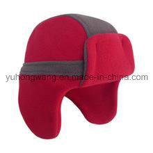 Промоциональная зимняя теплая трикотажная шлем / кепка из флиса
