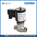 1/2 inch DC12V stainless steel piston steam solenoid valve