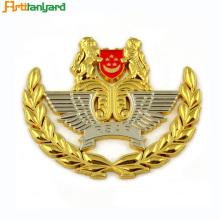 Harte Enamel Polizei Abzeichen Military Pin Abzeichen
