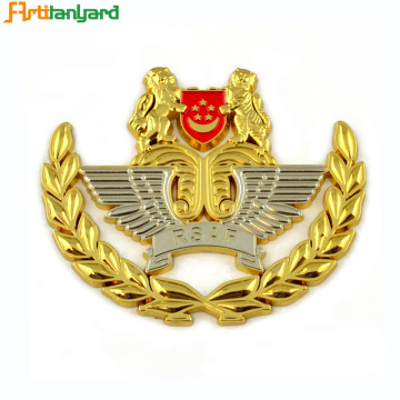 Emblema de polímero duro Badges Military Pin Badges