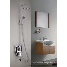 Round Spray Head Bathroom Shower Tap (MG-1235)