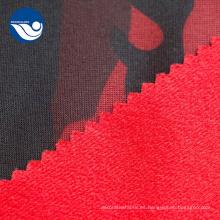 Cepillo con tejido de tricot estampado de piel sintética