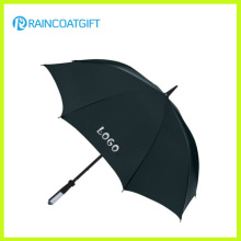 Custom Brand Logo Printed Straight Advertising Umbrella