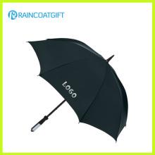 Logotipo personalizado de la marca Impreso paraguas de publicidad recta