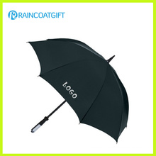Benutzerdefinierte Marke Logo Printed Straight Advertising Umbrella